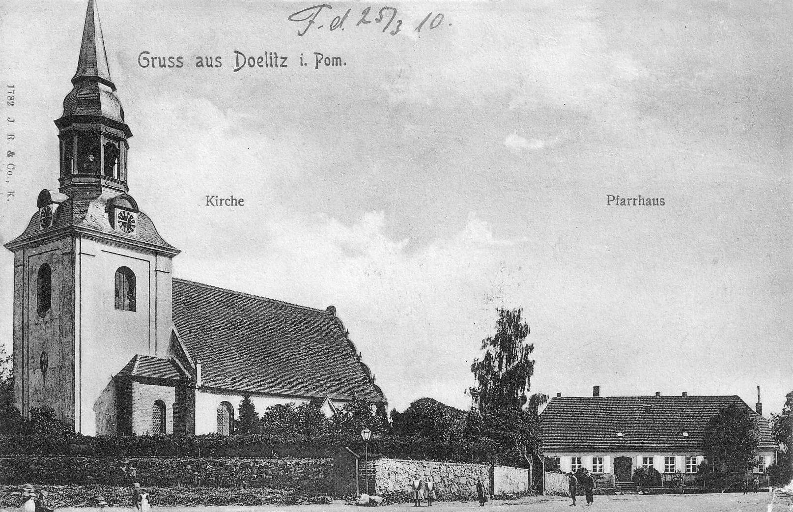 kościół w Dolicach